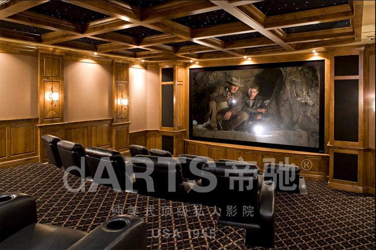 江苏●紫金别墅-美国西部文化与私人影院的完美碰撞