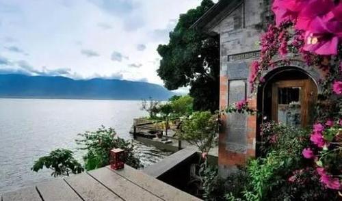 楊麗萍的豪宅酒店在雲南大理