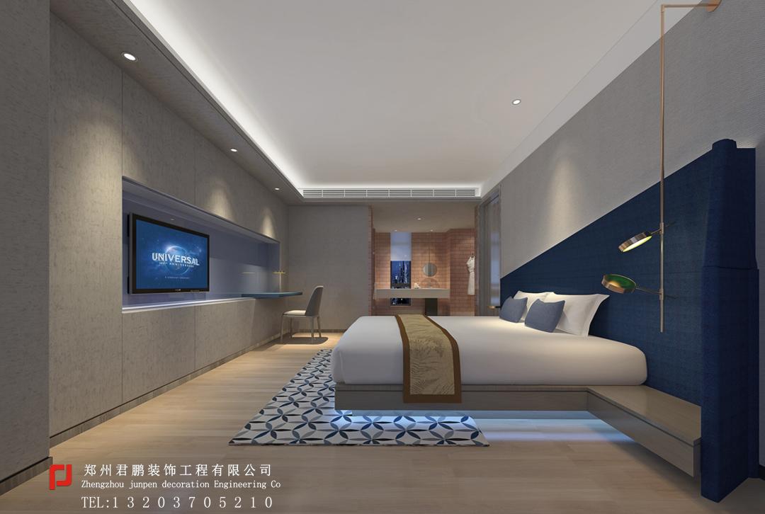 星际酒店套房卧室