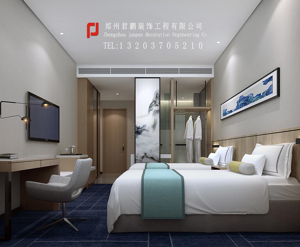 济源酒店卧室