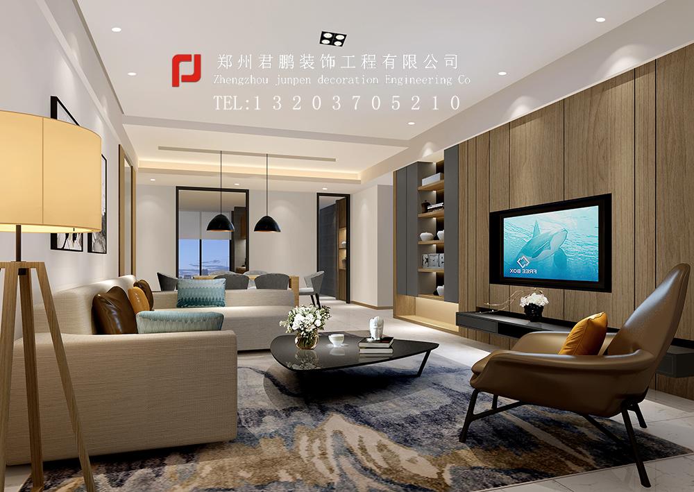 济源酒店中式客厅
